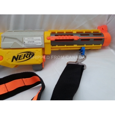 Aftermarket Nerf bandolier sling Attachment point