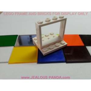 1 x 4 x 3 Lego Glass Top Cli..