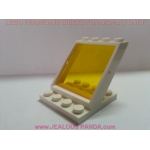 4 x 4 x 3  Lego Window Glass