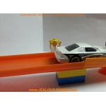 x2 Custom Hot Wheels to Lego Track connector Adapter joiner