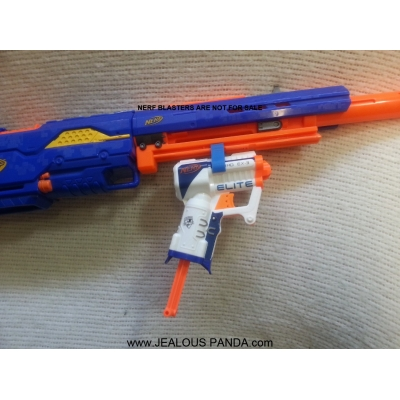 Nerf Elite TriAd Tactical Rail joiner connector 3D Elite Custom Mod