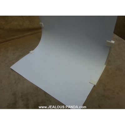 Photography Backdrop Background Sweep Stand for Macro Images USE ANY SIZE PAPER