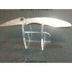 1x Acrylic Display Stand: handguns, knives toys or more Large - U shape Style 2