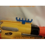 Nerf Spare Dart Holder. Attachment Accessory for 3D Mod RV-10 CS Vulcan
