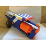 Nerf barrel break dart gun custom 3D printed dart holder accessory attachment CS
