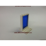 1 x 4 x 5 Lego Window Glass