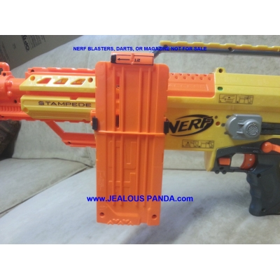Spare Single Clip Magazine Mount for Nerf Dart Gun Blaster Side Mount