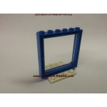 1 x 6 x 5 Lego Window Glass