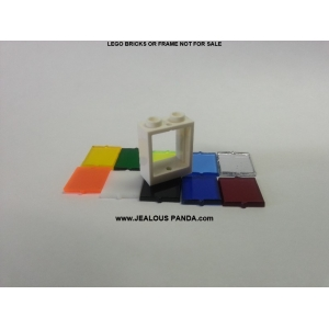 1 x 2 x 2 Lego Window Glass