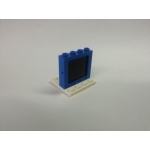 1 x 4 x 3 Lego Glass Old Style center clip