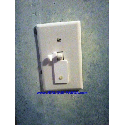 Toggle Light Switch Lock Guard Protector Child Safe