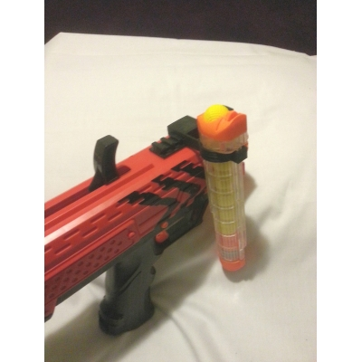 Nerf RIVAL SINGLE SPARE MAGAZINE HOLDER TACTICAL RAIL custom ACCESSORY MOD