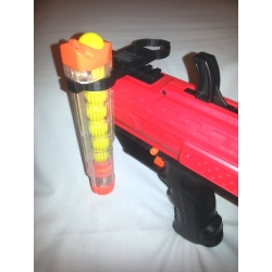 Nerf RIVAL DOUBLE SPARE MAGAZINE HOLDER TACTICAL RAIL cust..