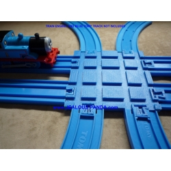 Double Train Track Crossover Connector Tomy Plarail Tomica..