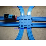 Double Train Track Crossover Connector Tomy Plarail Tomica Thomas R-21 R-04 R-05