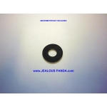 100 Black Acrylic Tattoo Machine Coil Wire Core Washers Parts