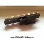 adjustable 7 Round 22LR Ammo Holder mounts Picatinny Rail IPSC carrier hunting