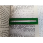 Reading Ruler Dyslexia Overlay Tool Small Paperback