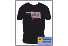 Oklahoma Home with Heart Shirt