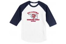 Oklahoma Diamond Girls Raglan Tee