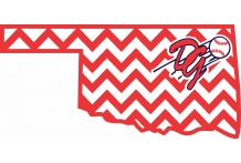 Oklahoma Diamond Girls logo 6 child sizes