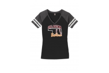 Bedlam Softball Vneck shirt