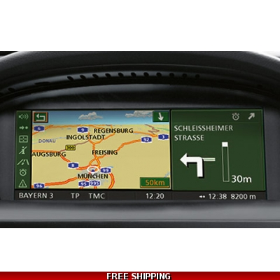 DVD Satnav BMW 2018 Professional Europe Navigation Gps