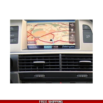 DVD Audi MMI High 2G Map Navigation Europe 2018