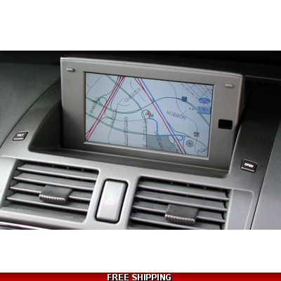 DVD MAZDA SDAL Navigation Map update Europe