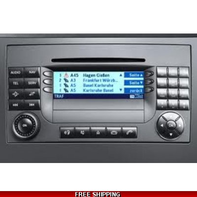 CD aps50 Mercedes NTG2 Navigation Map Update 2018 A1698270700