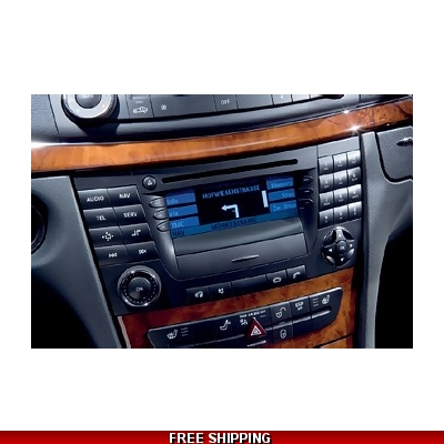 CD Map Mercedes Benz navigation audio APS50 Ntg1 Europe 17.0 2018 A2118270601