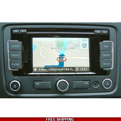 CD Navigation Volkswagen RNS-310 Blaupunkt FX maps update V.4.0