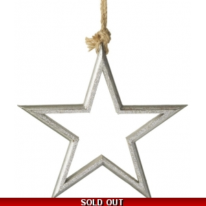 Hanging Sliver Star Dec..