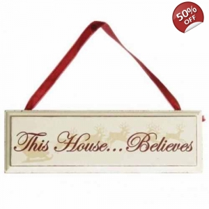 'This House Believes' Wooden Christmas..