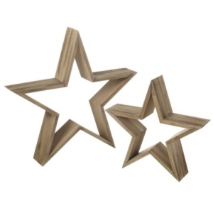 Wooden Decorative Star ..