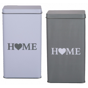 Home Storage Tin Box