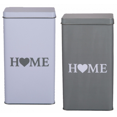 Home Storage Tin Box title=