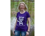 S - Skiathos Cat Welfare T-shirt - purple