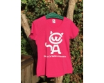 S- Skiathos Cat Welfare T Shirt  - pink
