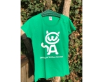 L - Skiathos Cat Welfare T Shirt  - Green