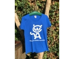 XL - Skiathos Cat Welfare T Shirt  - blue