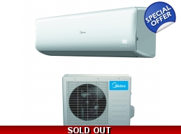 Midea 28000 Btu 18 SEER Super Inverter Mini Spli..