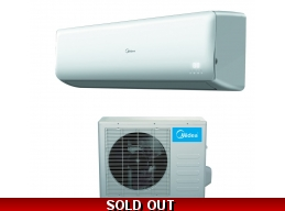 Midea 12000 Btu 23.5 SEER 110V Super Inverter Mini Split Heat Pump AC