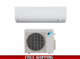 Daikin 12000 Btu 19 SEER Ductless 19 Series Heat Pump AC