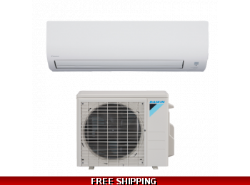 Daikin 9000 BTU 19 SEER Mini Split 19 Series Heat Pump AC