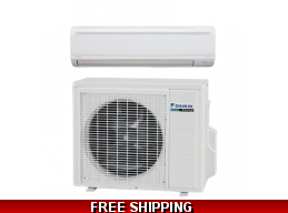 Daikin 15000 BTU 21 SEER Mini Split LV Series Heat Pump