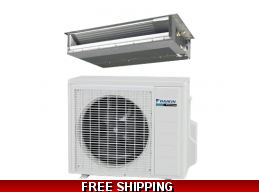 Daikin 9000 BTU 15 SEER Ducted Mini Split LV Series Heat Pump
