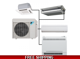 Daikin Custom Built Multi Zone Ductless Mini Split System