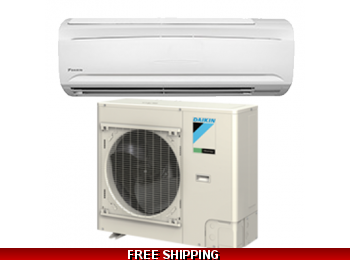 Daikin 18000 BTU 19 SEER Mini Split SkyAir Series Heat Pump