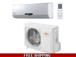 YMGI 9000 Btu 110V Mini Split 22 Seer Heat Pump AC